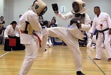 第1回拳正会東海空手道選手権大会