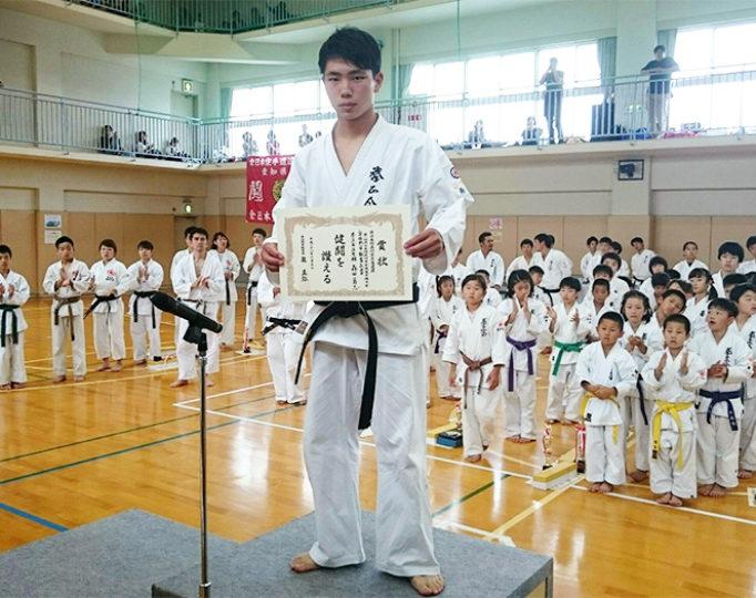 第1回西日本防具付空手道選手権大会