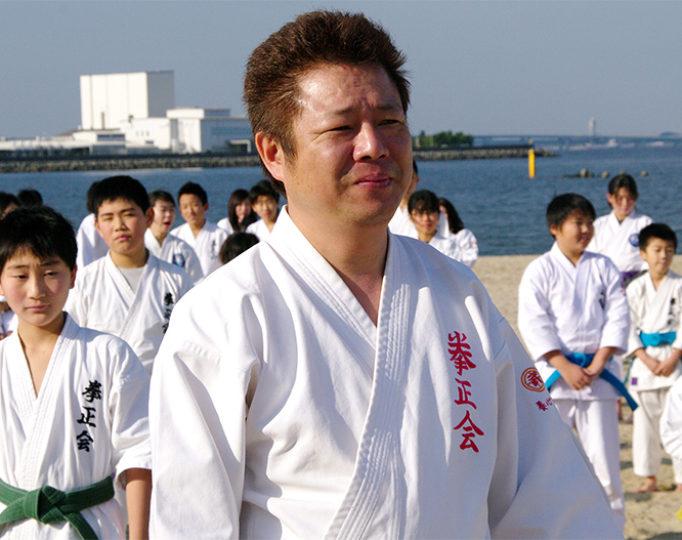 寒稽古2015年 拳正会空手道連盟