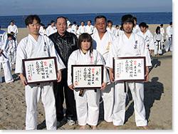 寒稽古2006年 拳正会空手道連盟