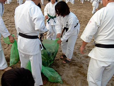 寒稽古2008年 拳正会空手道連盟