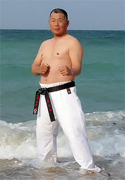 寒稽古2010年 拳正会空手道連盟