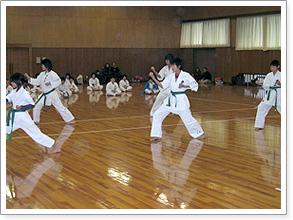 2006年昇級昇段審査 空手