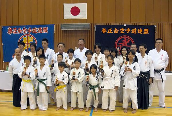 第1回拳正会東海空手道選手権大会(2010年)