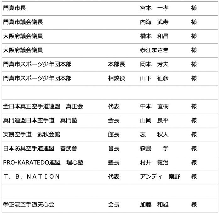 第45回 拳正会 全国空手道選手権大会(2019年)