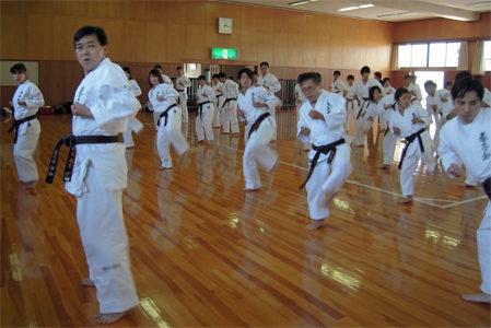 2009年大阪・愛知・静岡の合同練習|拳正会空手道連盟